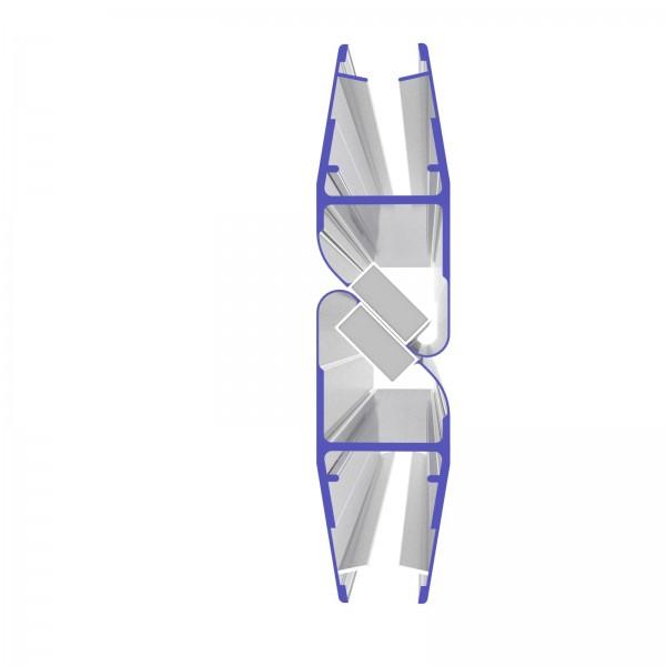 Magnetschienenset Typ 8852 für 180° (2x45°)